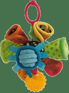 INFANTINO Pluszowa grzechotka Kolorowe rożki