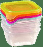 CURVER Pojemniki na żywność Fresh&Go 4 x 0.25l