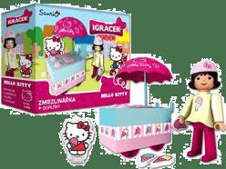 IGRÁČEK & HELLO KITTY Zmrzlinářka s doplnkami