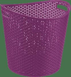 CURVER Kôš na bielizeň My Style 30l, fialový