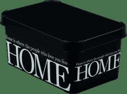 CURVER Úložný box Home White/Black S