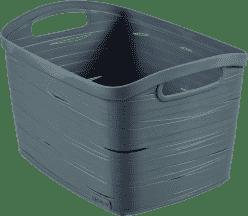 CURVER Košík Ribbon L, šedý