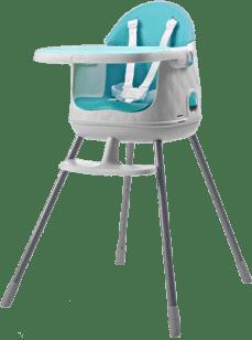 KETER Jedálenská stolička, modrá