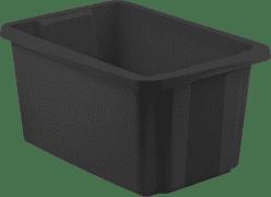 CURVER Úložný box s vekom Essentials 45l, čierny