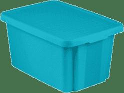 CURVER Úložný box s víkem Essentials 45l, modrý