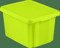 CURVER Úložný box s víkem Essentials 26l, zelený