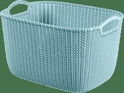 CURVER Koszyk prostokątny Knit 19l, niebieski