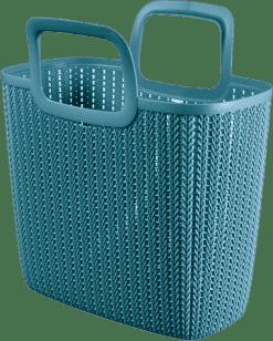 CURVER Nákupná taška Knit, modrá