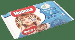 HUGGIES® Single Everyday 56 ks - vlhčené ubrousky