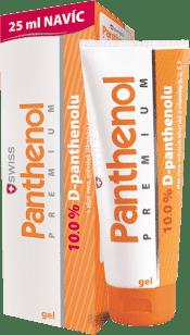 SWISS Panthenol 10% PREMIUM żel 100+25ml gratis