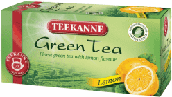 TEEKANNE Zelený čaj – citron, 20 sáčků