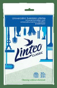 LINTEO CLASSIC – uniwersalna ściereczka z mikrofibry, 30 x 35 cm