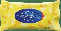 LINTEO Satin vlhčené ubrousky do kuchyně 40 ks, 1 vrstvé
