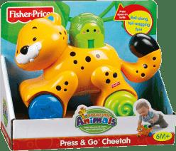 FISHER-PRICE Jeżdżące zwierzątka - Gepard