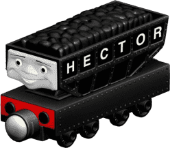 FISHER-PRICE Mašinka Hector – černá