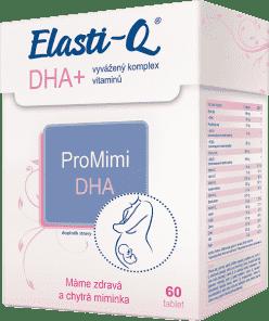 ELASTI-Q odpúšťa DHA 60 tabliet