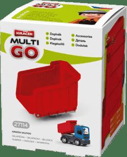 IGRÁČEK Multigo - sklopka červená