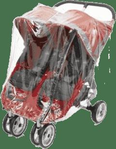 BABY JOGGER Pláštěnka City Mini / Mini GT - Transparent