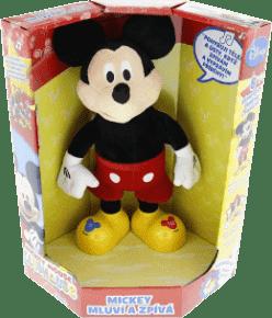 MIKRO TRADING Mickey Mouse 33cm česky hovoriaci a spievajúci