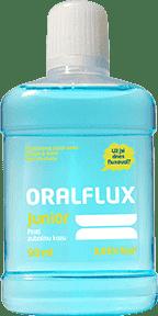 ORALFLUX Junior ovocie a mäta 90ml ústna voda