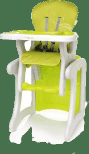 4BABY Stolička Fruity fashion - zelená