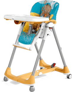 PEG-PÉREGO Židlička Prima Pappa Diner Hippo Giallo