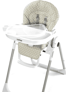 PEG-PÉREGO Židlička Prima Pappa Zero3 Babydot Beige