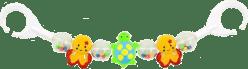 CANPOL Babies Chrastítko do kočárku želvy