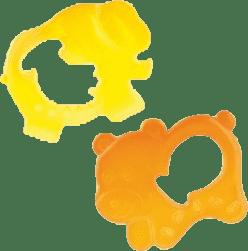 CANPOL babies Gryzak niedźwiadek/ słoń. Pomarańczowy