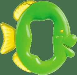 CANPOL Babies Chladiace hryzátko s hrkálkou-ryba-rôzne farby