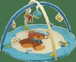 CANPOL Babies Hrací koberec hrajúci s hrazdičkou MEDVEDÍK