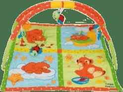 CANPOL Babies Hrací koberec s hrazdičkou MÉĎA