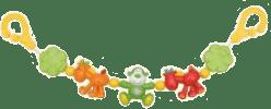 CANPOL Babies Chrastítko do kočárku žirafy a opičky