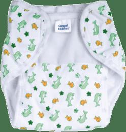 CANPOL Babies Plienkové nohavičky PREMIUM M – Delfíny