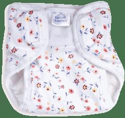 CANPOL Babies Plienkové nohavičky PREMIUM M - Kytičky
