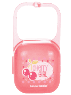 CANPOL BABIES Pouzdro na šidítko Fruits - cherry