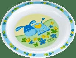 CANPOL Babies Plastový tanier - modrá