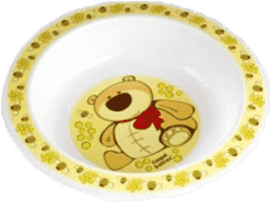 CANPOL Babies Plastová miska – žlutá