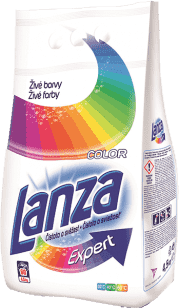 LANZA Expert Color 4,5 kg (60 prań) - proszek do prania