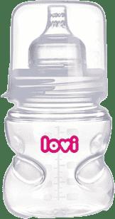 LOVI Butelka samosterylizująca 150ml 0% BPA super vent