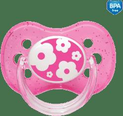 CANPOL Babies A - Cumlík síl. čerešnička 0-6m NATURE - ružové