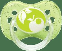 CANPOL Babies B - Šidítko sil. třešinka 6-18m NATURE – zelené