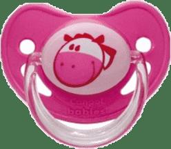 CANPOL Babies B - Šidítko silik. anatomické 6-18 m Fairy Tale – růžové