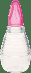 CANPOL Babies Nosová odsávačka silikónová – ružová