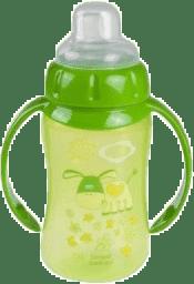 CANPOL Babies Tréningový hrnček s úchyty- zelená 320 ml