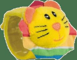 CANPOL Babies Plyšové chrastítko na ruku jungle- lev