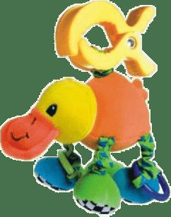 CANPOL Babies Plyšové hrkálka vibrační- kačica