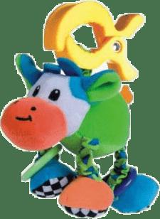 CANPOL Babies Plyšové hrkálka vibrační- krava