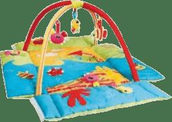 CANPOL Babies Hrací koberec s hrazdičkou MULTIFUNKČNÝ oceán