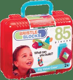 BRISTLE BLOCKS Stavebnice 85 ks v kufříku